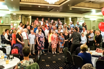 Our 40th Anniversary shared with the Mayflower Chorus.