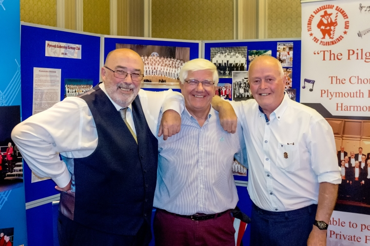 Our two new Life Members with Mike our chairman.